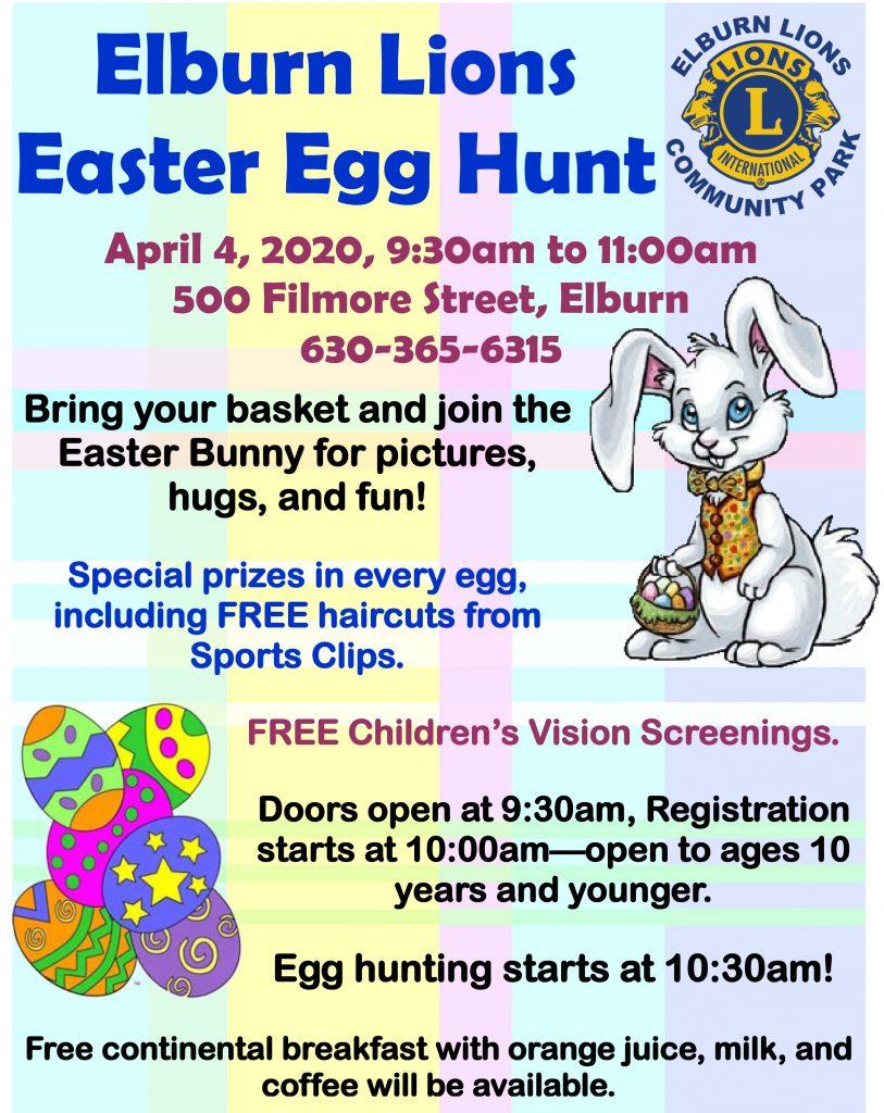 Elburn Lions Easter Egg Hunt
