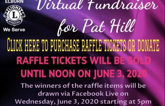 Virtual Fundraiser for Pat Hill