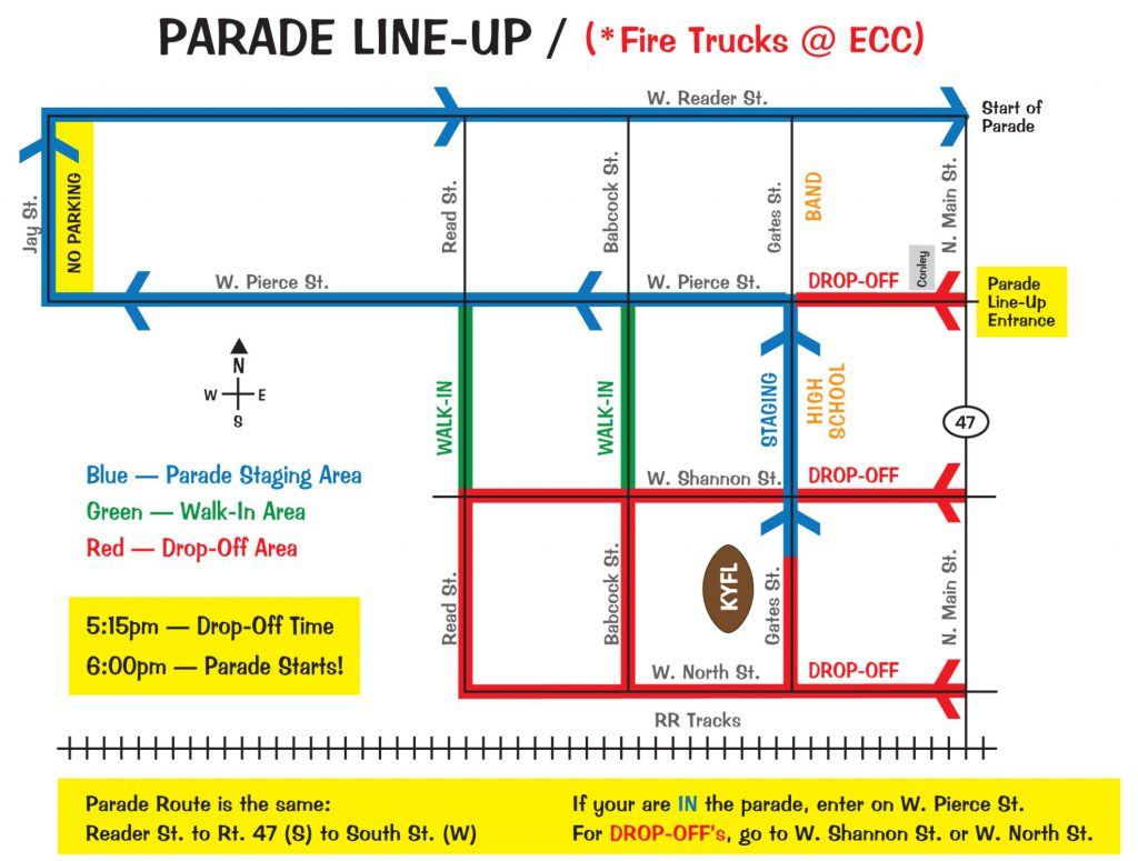 Elburn Days Parade Line up