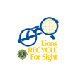 Lions Recycle for Sight Logo