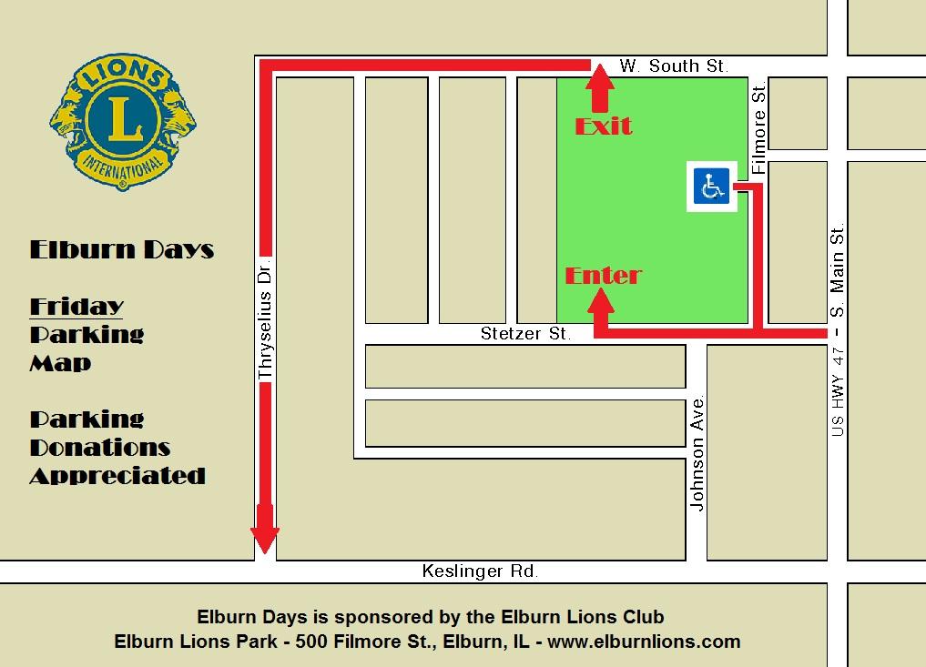 Elburn Days Parking