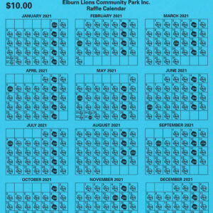 Jackpot Days Calendar